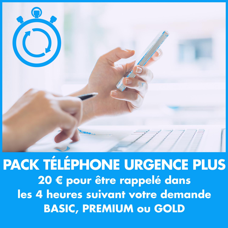 Pack Téléphone Urgence Plus